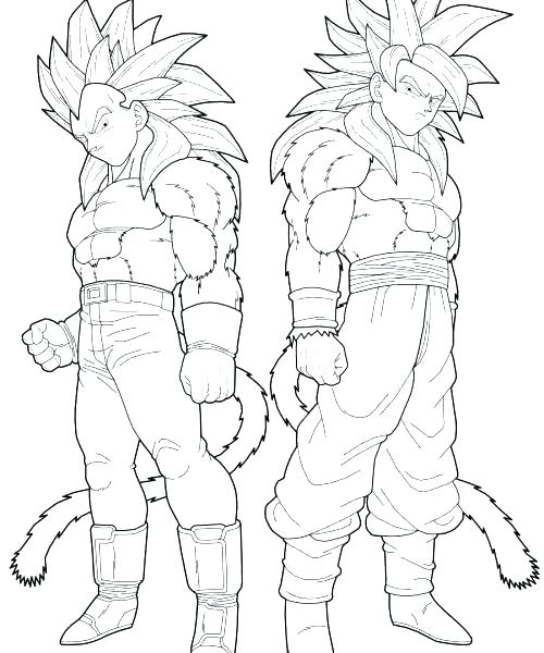 500x600 Super Saiyan Coloring Pages Super Coloring Pages Coloring Pages
