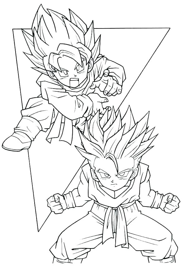 600x850 Dragon Ball Super Coloring Pages Dragon Ball Z Coloring Sheets Z