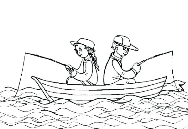 600x413 Boat Coloring Page Sailing Boat Coloring Pages Speed Boat Coloring