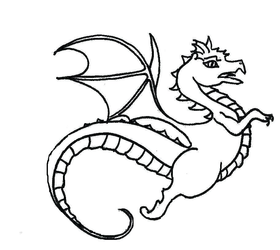 912x812 Cute Dragon Coloring Pages Pictures Of Cute Dragons Cute Cartoon