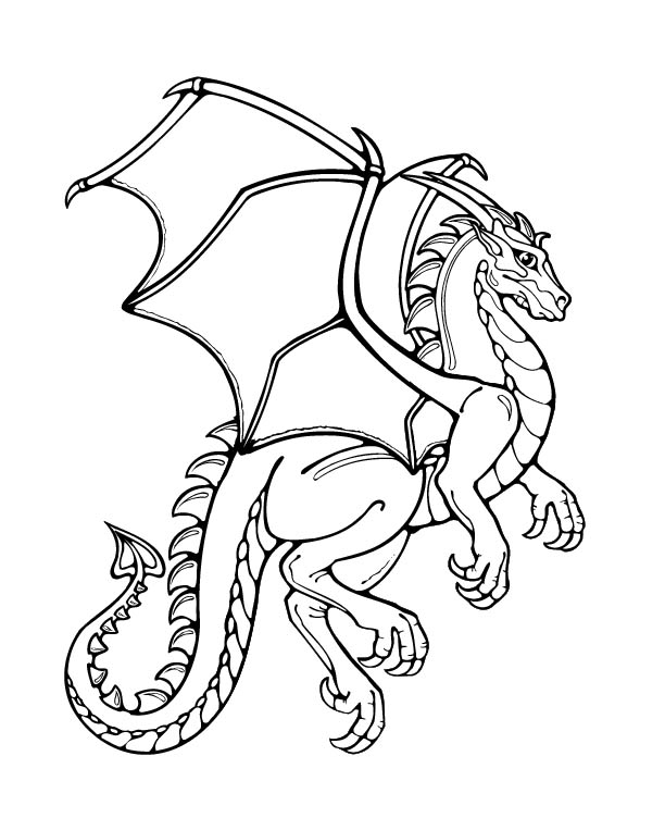 612x752 Dragon Keeper Coloring Pages