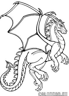 236x328 Top Free Printable Dragon Coloring Pages Online Knight