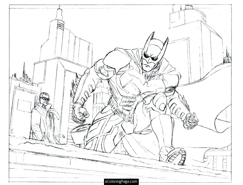 1000x761 Commissioner City Coloring Page Printable For Boys Dragon City