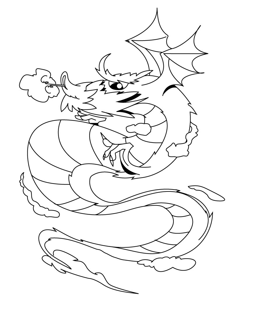 878x1060 Dragon City Coloring Pages