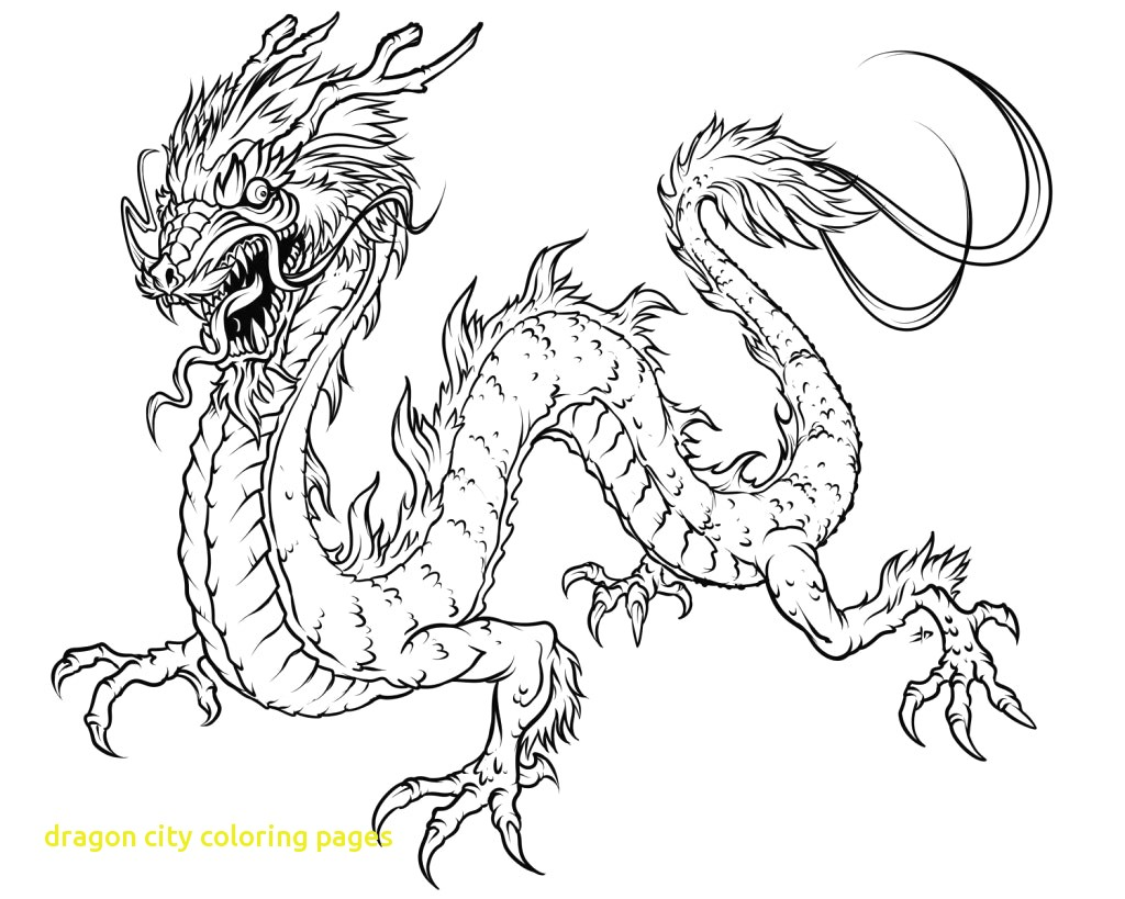 1024x819 Dragon City Coloring Pages