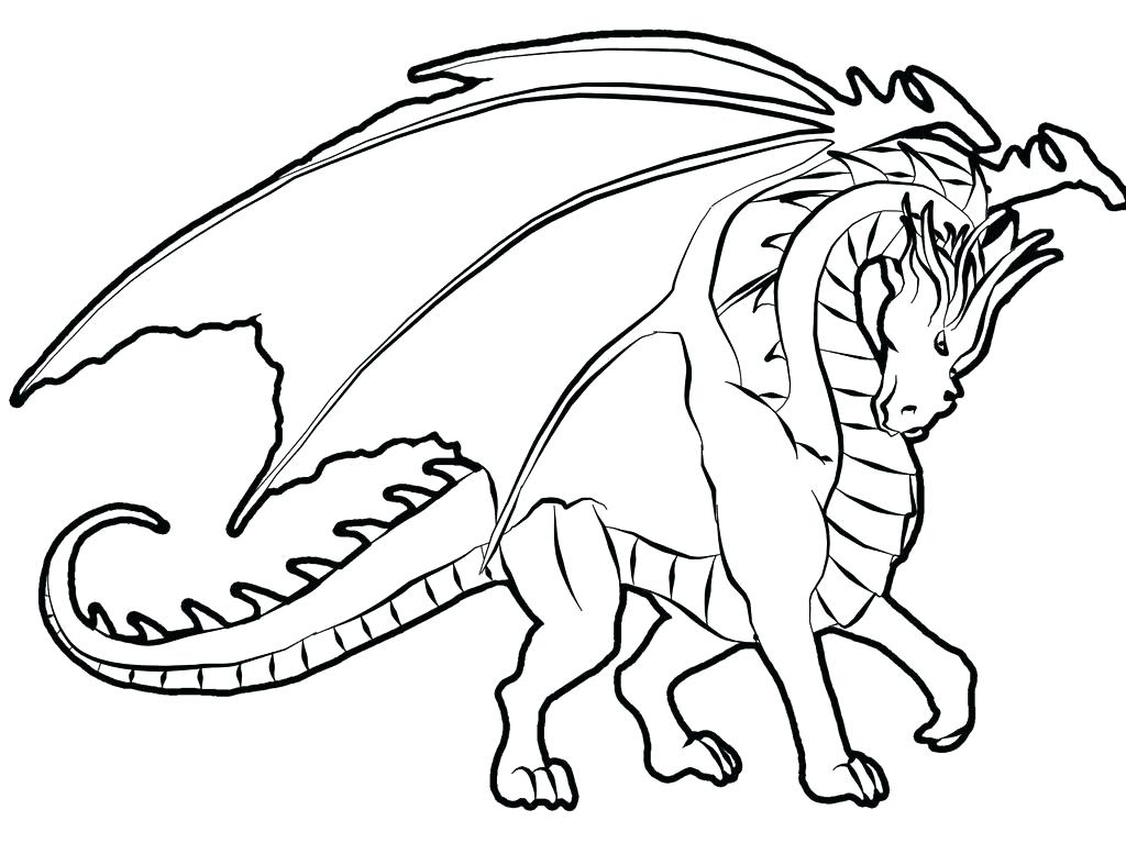 1024x767 Free Printable Dragon Coloring Pages Dragon Coloring Pages Free