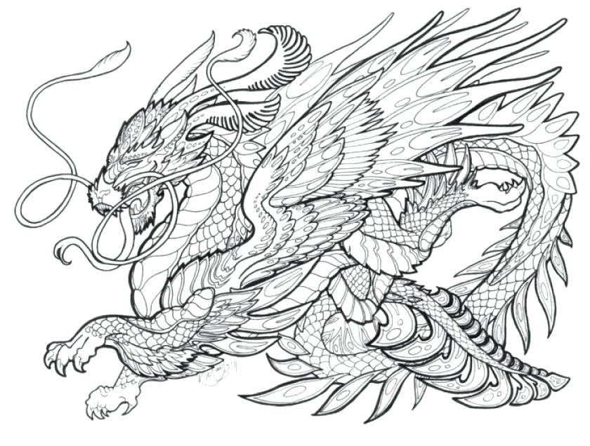 840x636 Luxury Printable Dragon Coloring Pages Or Dragon Coloring Pages