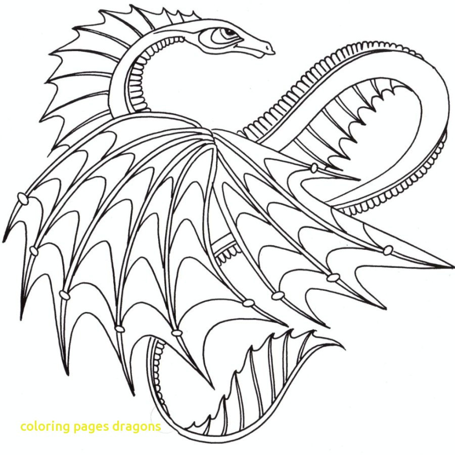 900x900 Practical Scary Dragon Coloring Pages Dragons