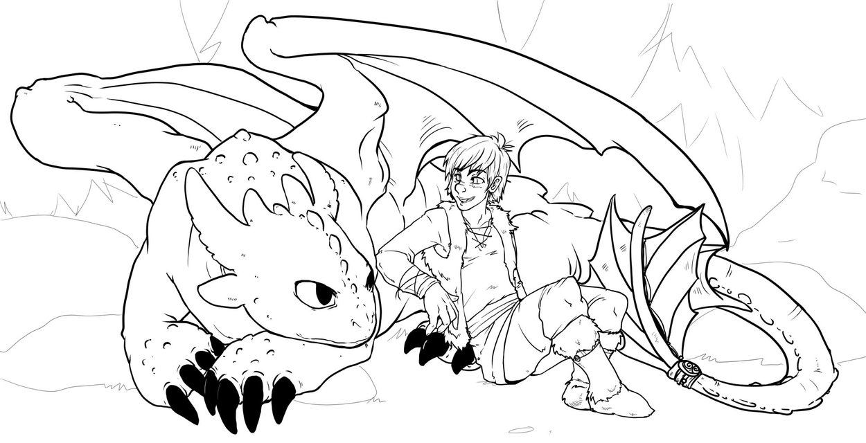 1250x640 Baby Dragon Coloring Pages
