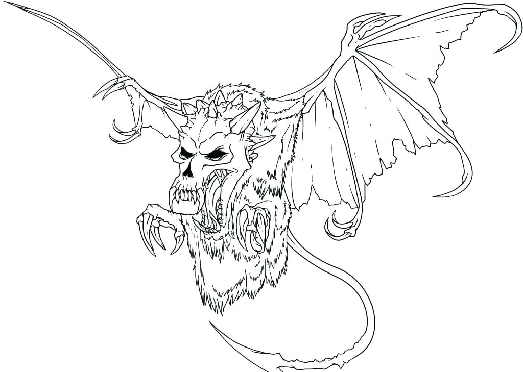 1024x729 Printable Dragon Coloring Pages Detailed Dragon Coloring Pages