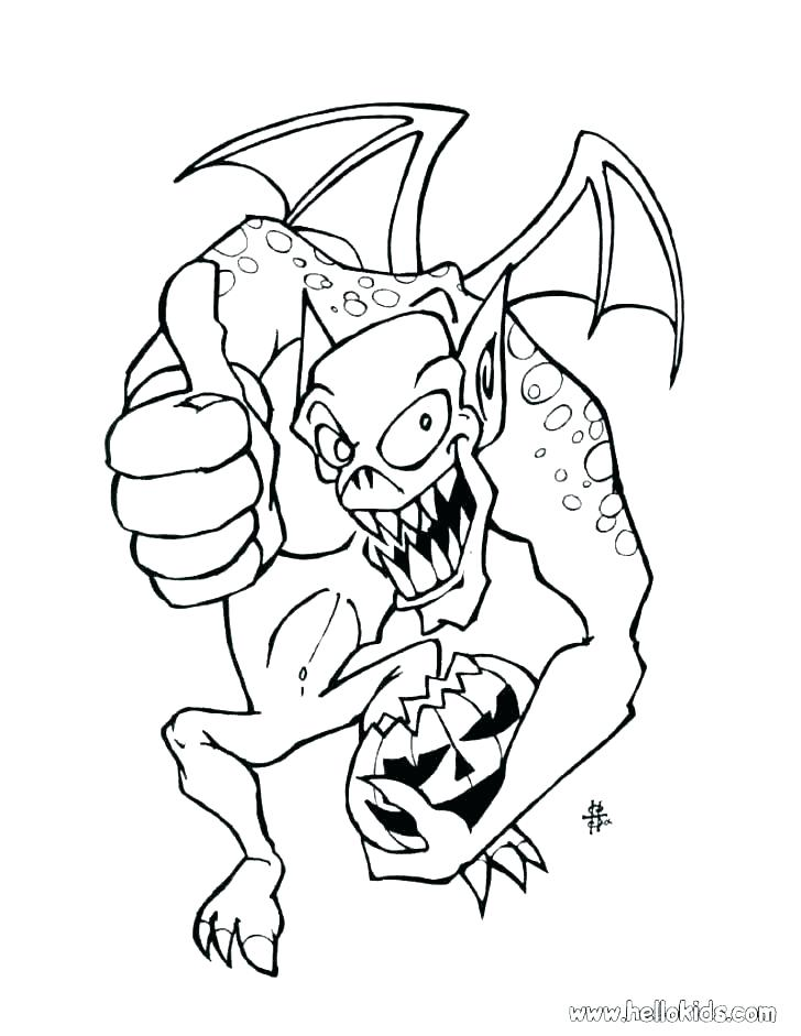 728x941 Scary Dragon Coloring Pages Scary Coloring Pages Scary Girl