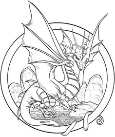 236x281 Top Free Printable Dragon Coloring Pages Online Knight