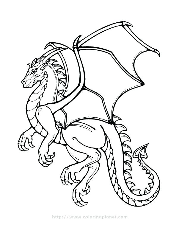 612x792 Dragon Coloring Sheets Free Dragon Coloring Pages Cool Dragons
