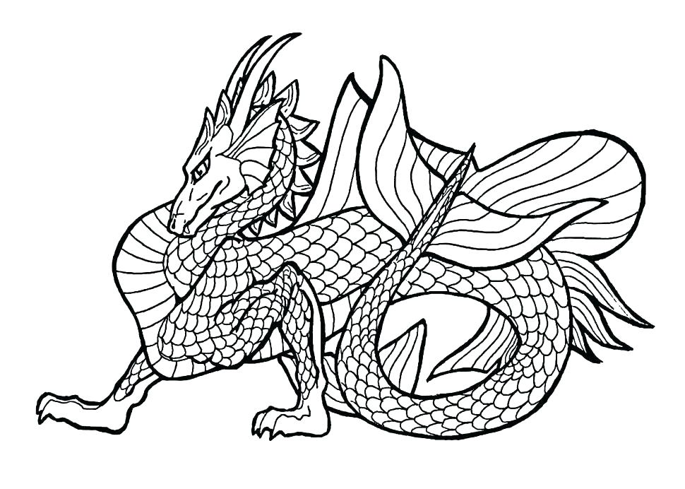 970x692 Dragon Coloring Pages Homely Design Real Dragon Coloring Pages