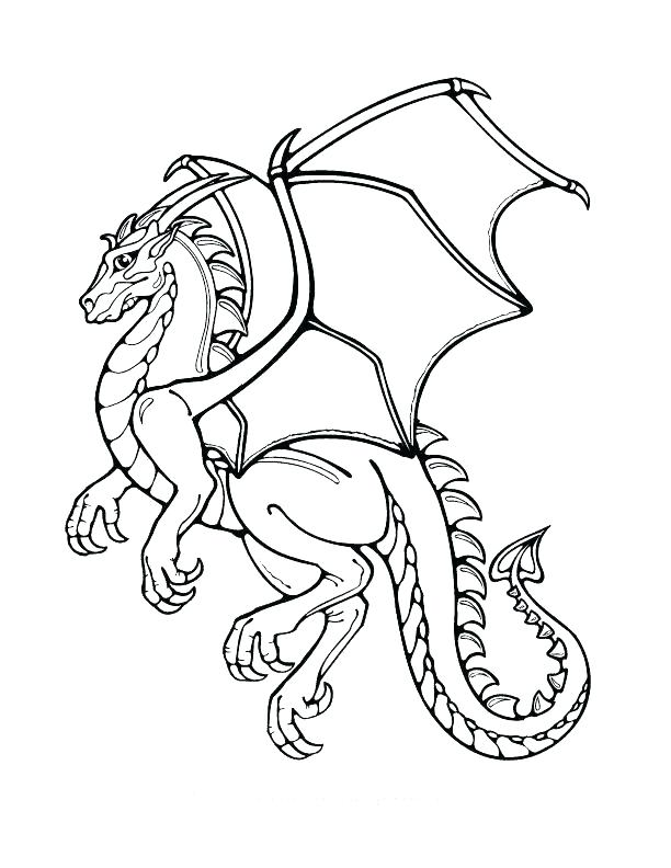 Dragon Coloring Pages To Print At Getdrawings Com Free For