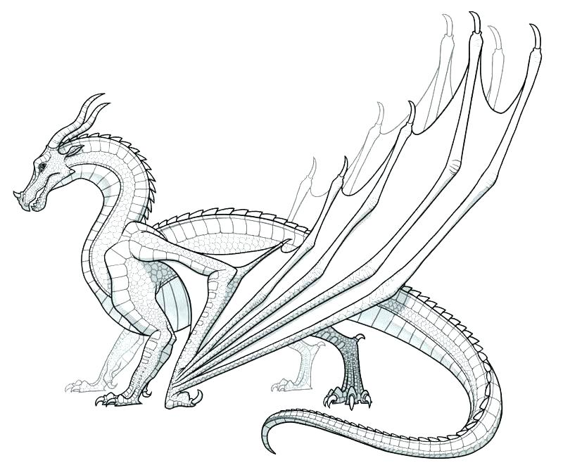 Dragon Coloring Pages To Print At Getdrawings Free Download