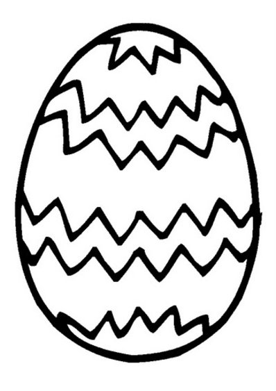 398x563 Easter Egg Coloring Pages