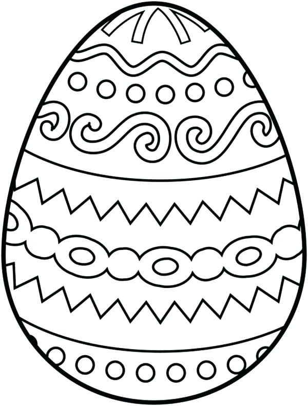 600x791 Egg Coloring Pages Egg Coloring Pages Basket Full Of Eggs Coloring