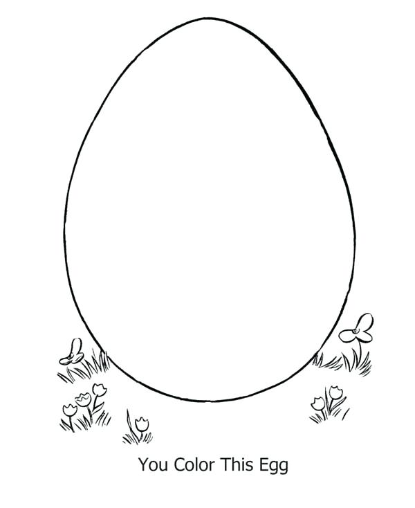 600x734 Egg Coloring Pages Egg Coloring Sheet Learn To Decorate Egg