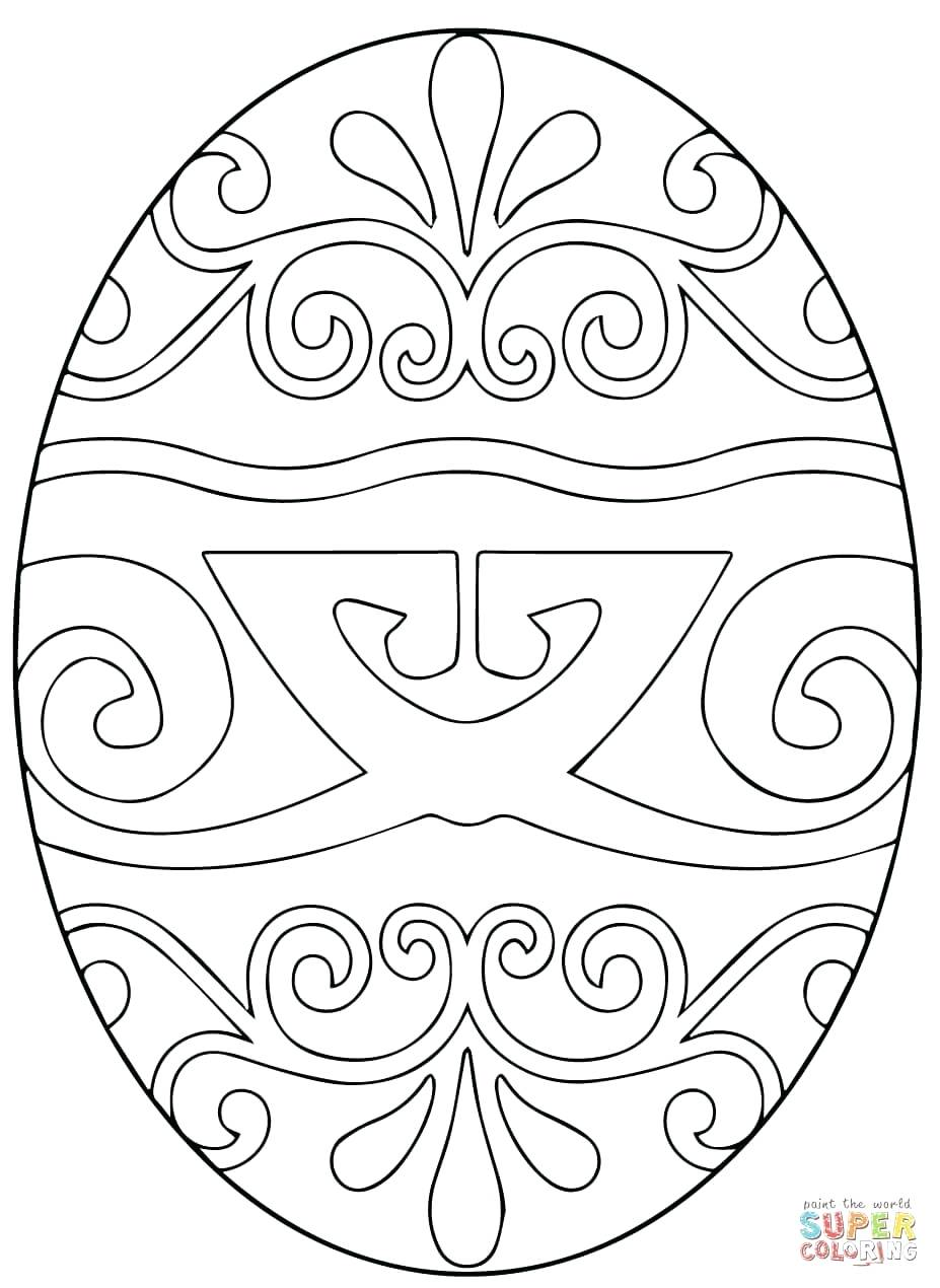 927x1270 Coloring Page Egg Coloring Pages Easter Crayola Egg Coloring