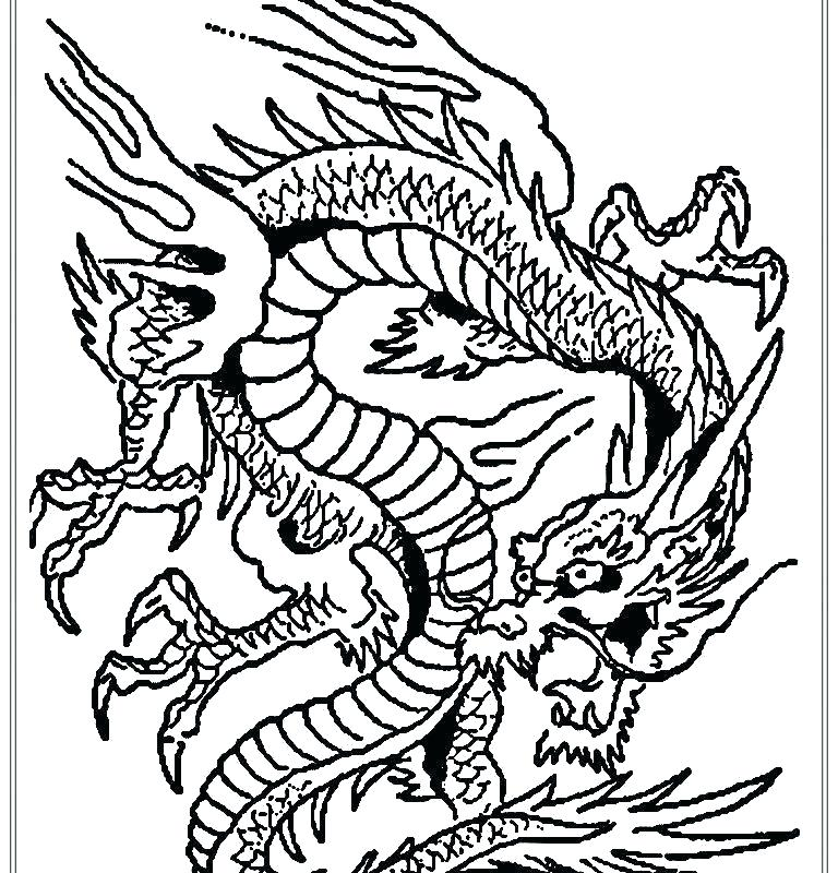 768x800 Dragon Art Coloring Pages Dragon Color Pages Fresh Coloring Page