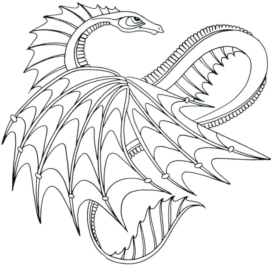 878x878 Dragon Head Coloring Page Chinese Dragon Head Colouring Page
