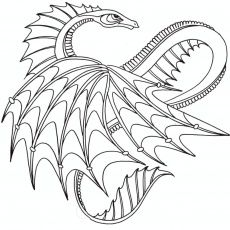 230x230 Coloring Pages Free Coloring Pages Of Mandalas Dragon Dragon