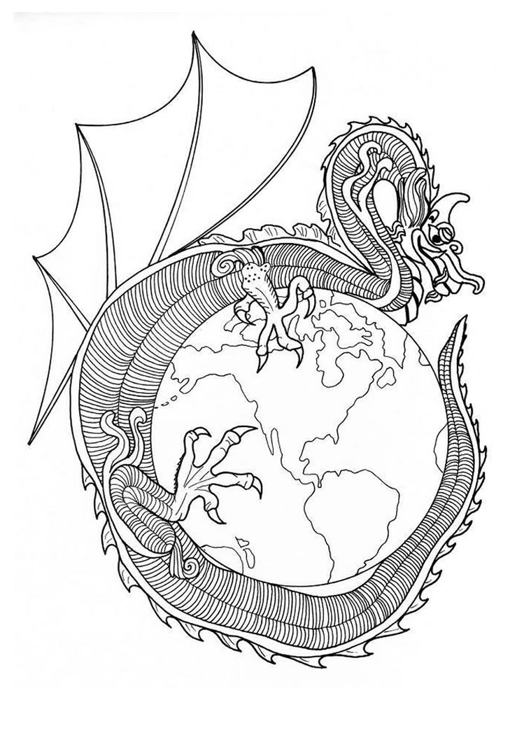 749x1060 Dragon Mandalas