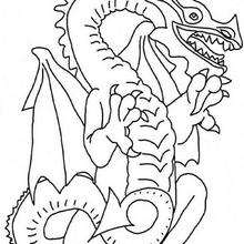 220x220 Dragon Mandala Coloring Pages
