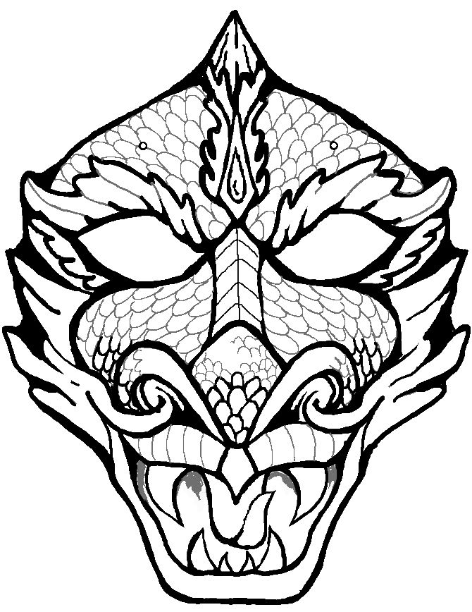670x868 Dragon Face Coloring Page Coloring Pics Dragon