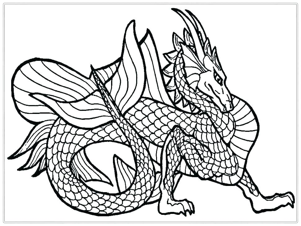 970x728 Real Dragon Coloring Pages Bytes Dragon Mask To Color Printable