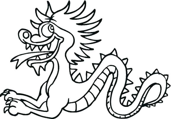 578x402 Chinese Dragon Coloring Pages Printable Dragon Coloring Pages