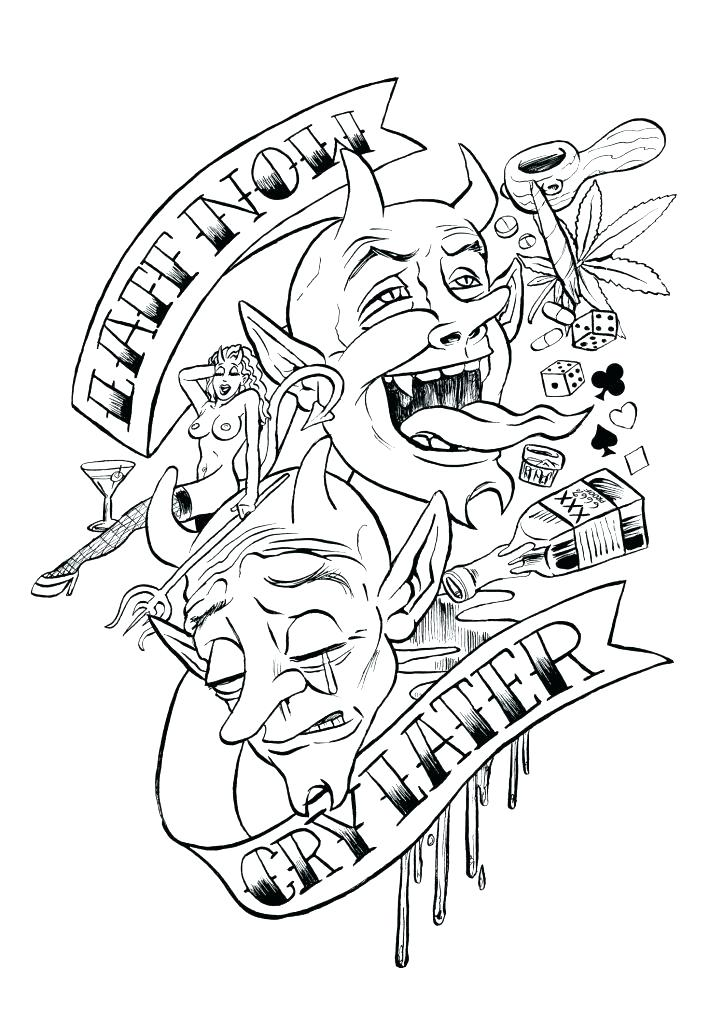 724x1024 Marvelous Tattoos Coloring Pages Tattoo Coloring Pages Also Tattoo