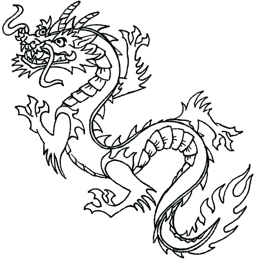 878x893 Tattoo Coloring Pages Tattoo Design Coloring Pages Dragon Tattoo