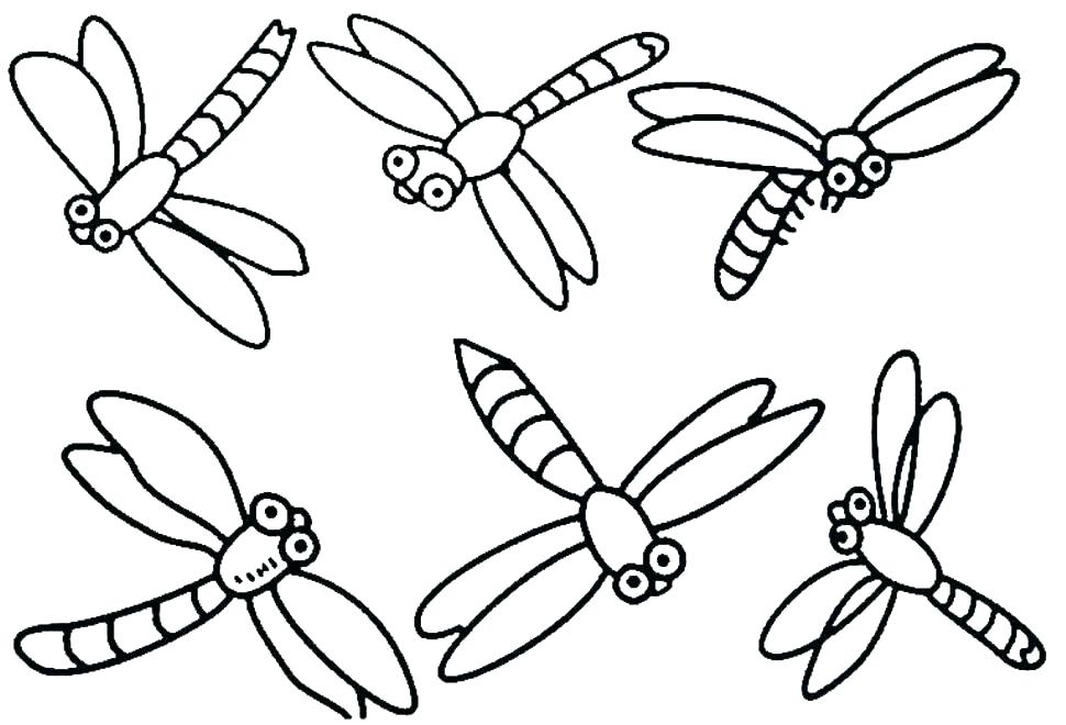 970x660 Fly Coloring Page Fly Coloring Page A Very Happy Firefly Dragonfly