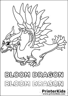 Dragonvale Coloring Pages