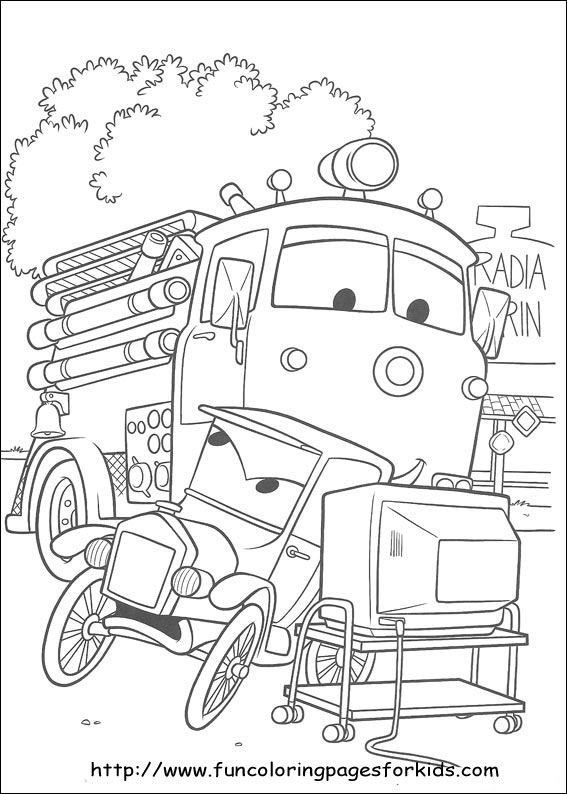 Dragster Coloring Pages