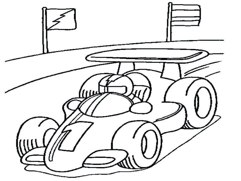 1000x750 Race Car Coloring Pages Free Race Car Coloring Page For Your Boys
