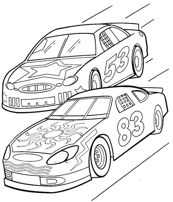 736x855 Race Car Coloring Pages Pdf Kids Coloring Printable Race Car