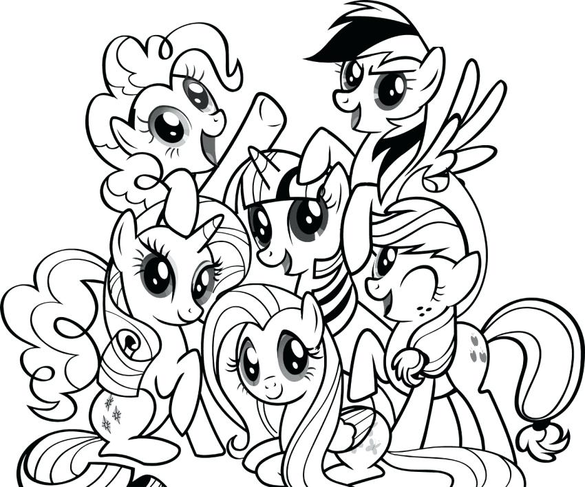 850x708 Coloring Dragster Coloring Pages Printable My Little Pony Sheets