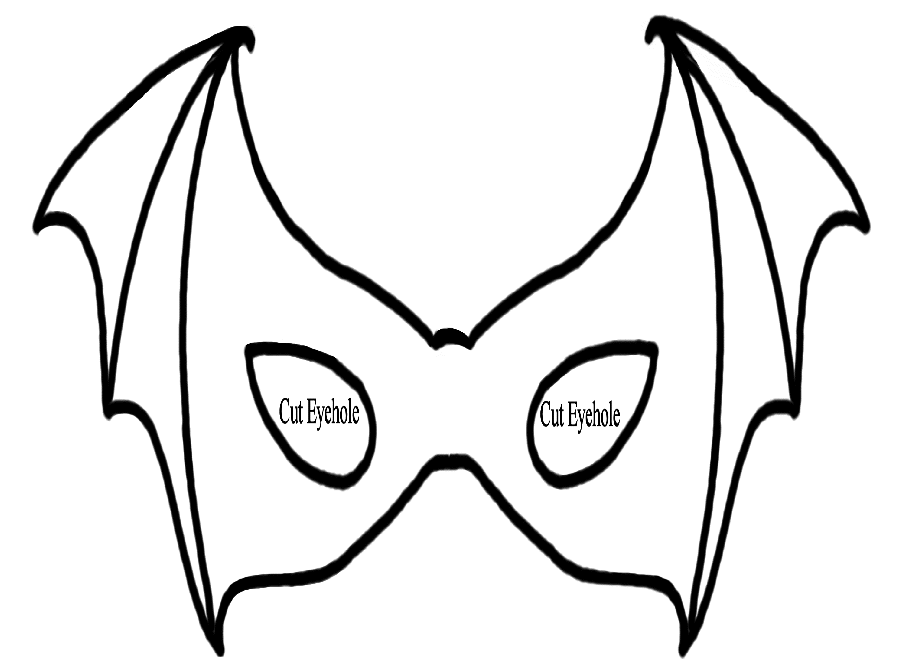 Drama Mask Coloring Pages