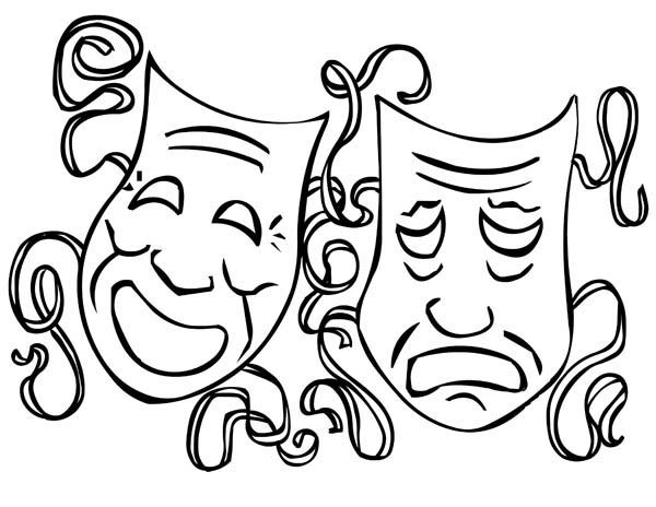 600x464 Mardi Gras Masks Coloring Pages Mardi Gras, The Twin Comedy