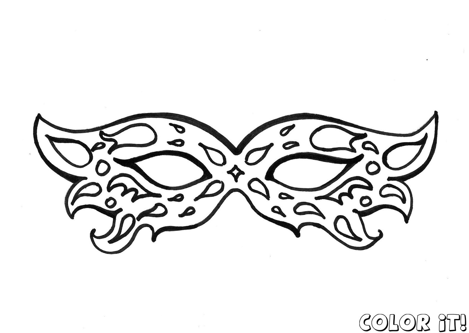 1800x1279 Drama Mask Template New Best S Of Carnival Mask Template Printable