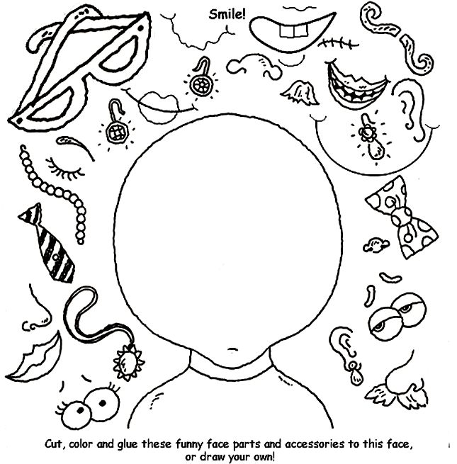 Draw Your Own Coloring Pages