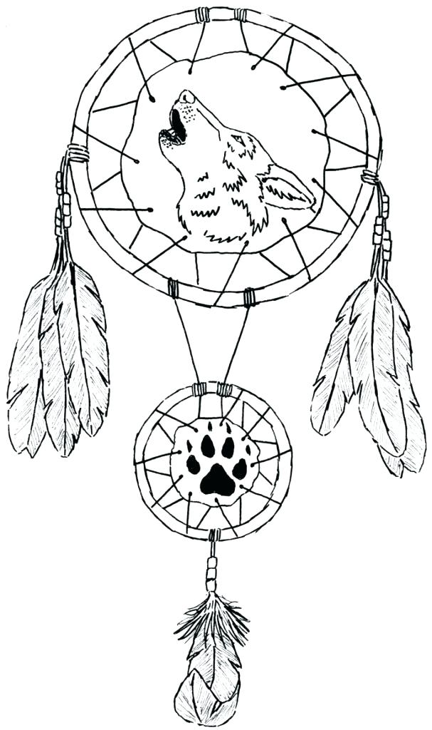 607x1024 Dreamcatcher Color Pages Dream Catcher Coloring Pages Together