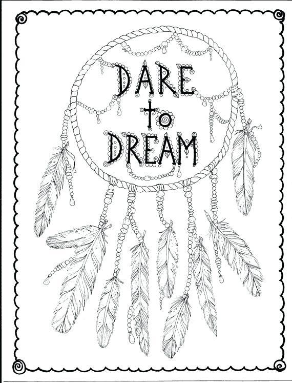 570x747 Dreamcatcher Coloring Pages Dream Catcher Coloring Pages