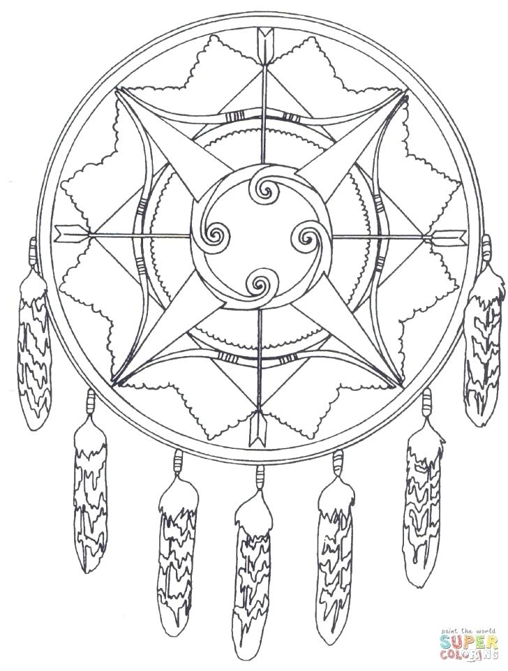 728x961 Dreamcatcher Coloring Pages Medium Size Of Coloring Pages