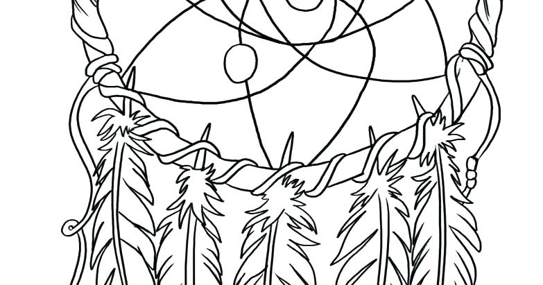 783x411 Dream Catcher Coloring Book With Free Adult Coloring Page Dream