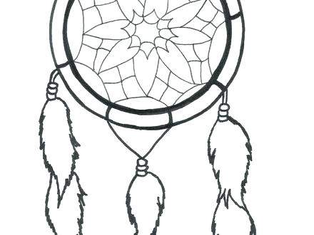 440x330 Dream Catcher Coloring Pages Dream Catcher Coloring Pages Free