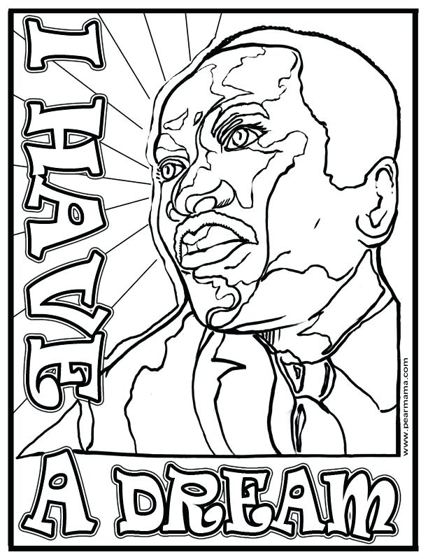 612x799 Surprising Redneck Coloring Pages I Have A Dream Coloring Page